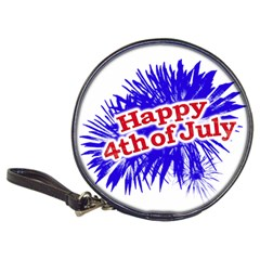 Happy 4th Of July Graphic Logo Classic 20-CD Wallets