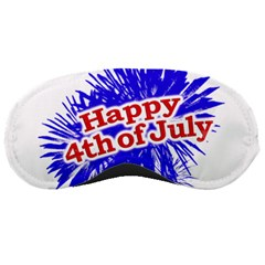 Happy 4th Of July Graphic Logo Sleeping Masks