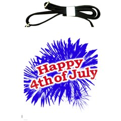 Happy 4th Of July Graphic Logo Shoulder Sling Bags