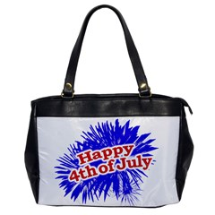 Happy 4th Of July Graphic Logo Office Handbags