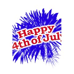Happy 4th Of July Graphic Logo 5.5  x 8.5  Notebooks