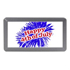 Happy 4th Of July Graphic Logo Memory Card Reader (Mini)
