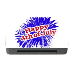 Happy 4th Of July Graphic Logo Memory Card Reader with CF