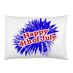 Happy 4th Of July Graphic Logo Pillow Case (Two Sides)