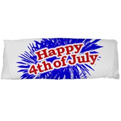 Happy 4th Of July Graphic Logo Body Pillow Case (Dakimakura)