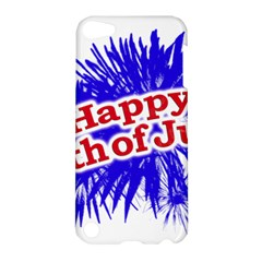 Happy 4th Of July Graphic Logo Apple iPod Touch 5 Hardshell Case