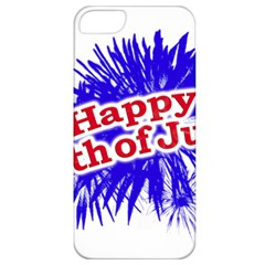 Happy 4th Of July Graphic Logo Apple iPhone 5 Classic Hardshell Case