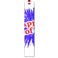Happy 4th Of July Graphic Logo Large Book Marks