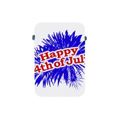 Happy 4th Of July Graphic Logo Apple iPad Mini Protective Soft Cases