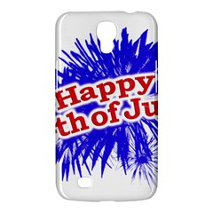 Happy 4th Of July Graphic Logo Samsung Galaxy Mega 6.3  I9200 Hardshell Case