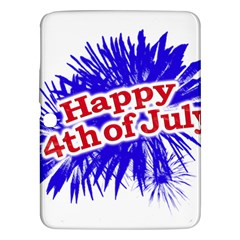 Happy 4th Of July Graphic Logo Samsung Galaxy Tab 3 (10.1 ) P5200 Hardshell Case