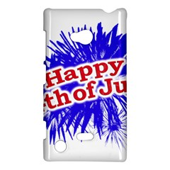 Happy 4th Of July Graphic Logo Nokia Lumia 720