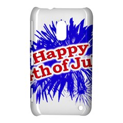 Happy 4th Of July Graphic Logo Nokia Lumia 620