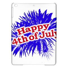 Happy 4th Of July Graphic Logo iPad Air Hardshell Cases