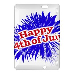 Happy 4th Of July Graphic Logo Kindle Fire HDX 8.9  Hardshell Case