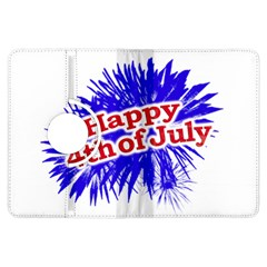 Happy 4th Of July Graphic Logo Kindle Fire HDX Flip 360 Case
