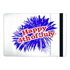 Happy 4th Of July Graphic Logo Samsung Galaxy Tab Pro 10.1  Flip Case