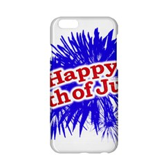Happy 4th Of July Graphic Logo Apple iPhone 6/6S Hardshell Case