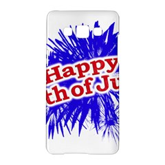 Happy 4th Of July Graphic Logo Samsung Galaxy A5 Hardshell Case