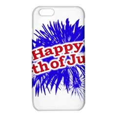 Happy 4th Of July Graphic Logo iPhone 6/6S TPU Case