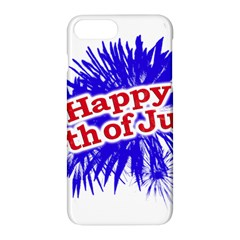 Happy 4th Of July Graphic Logo Apple iPhone 7 Plus Hardshell Case