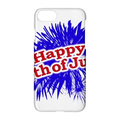 Happy 4th Of July Graphic Logo Apple iPhone 7 Hardshell Case