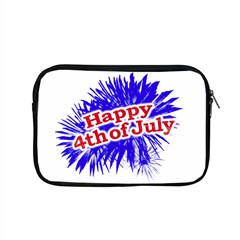 Happy 4th Of July Graphic Logo Apple MacBook Pro 15  Zipper Case