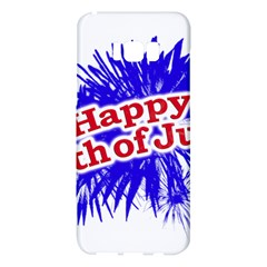 Happy 4th Of July Graphic Logo Samsung Galaxy S8 Plus Hardshell Case