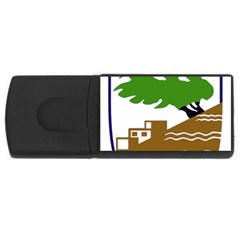 Coat Of Arms Of Holon  Usb Flash Drive Rectangular (4 Gb)