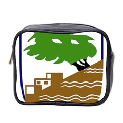 Coat Of Arms Of Holon  Mini Toiletries Bag 2 Side