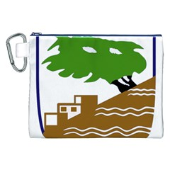 Coat of Arms of Holon  Canvas Cosmetic Bag (XXL)