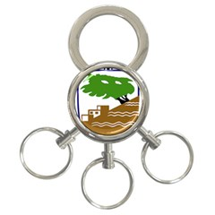 Coat of Arms of Holon  3-Ring Key Chains
