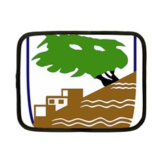 Coat of Arms of Holon  Netbook Case (Small)