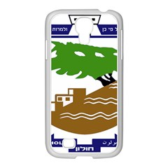 Coat of Arms of Holon  Samsung GALAXY S4 I9500/ I9505 Case (White)