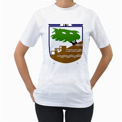 Coat of Arms of Holon  Women s T-Shirt (White)