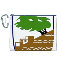 Coat of Arms of Holon  Canvas Cosmetic Bag (XL)