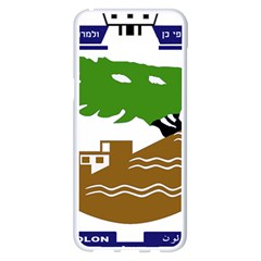 Coat of Arms of Holon  Samsung Galaxy S8 Plus White Seamless Case