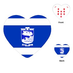 Flag of Holon  Playing Cards (Heart)
