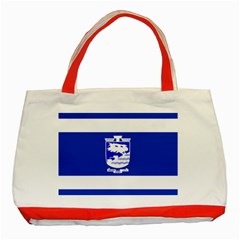 Flag of Holon  Classic Tote Bag (Red)