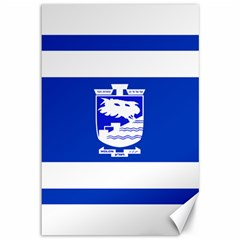 Flag of Holon  Canvas 12  x 18