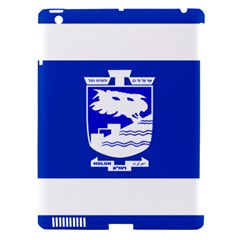 Flag of Holon  Apple iPad 3/4 Hardshell Case (Compatible with Smart Cover)
