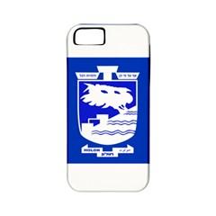 Flag of Holon  Apple iPhone 5 Classic Hardshell Case (PC+Silicone)