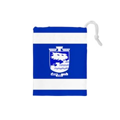 Flag of Holon  Drawstring Pouches (Small)