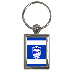 Flag of Holon  Key Chains (Rectangle)