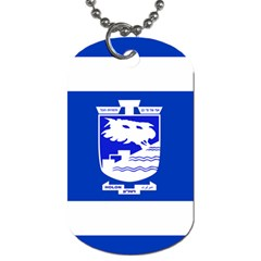 Flag of Holon  Dog Tag (Two Sides)