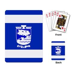 Flag of Holon  Playing Card