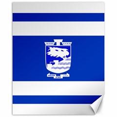 Flag of Holon  Canvas 16  x 20