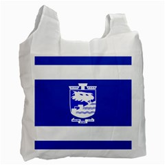 Flag of Holon  Recycle Bag (One Side)