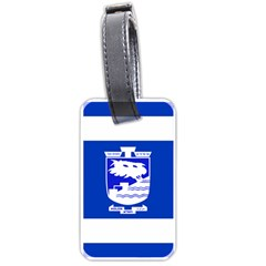 Flag of Holon  Luggage Tags (One Side)