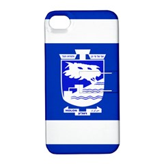 Flag of Holon  Apple iPhone 4/4S Hardshell Case with Stand